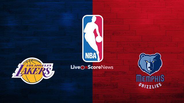 Quevedo Sportsmax Los Angeles Lakers Vs Memphis Grizzlies Live Strea Memphis Grizzlies Lakers Vs Memphis