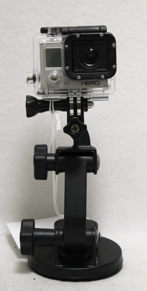 GoPro Hero 3 Silver Edition CHDHN-301 Video Camera wIfI Camcorder DashCam Action #GoPro #camera #hero #silver #wifi #gift #idea