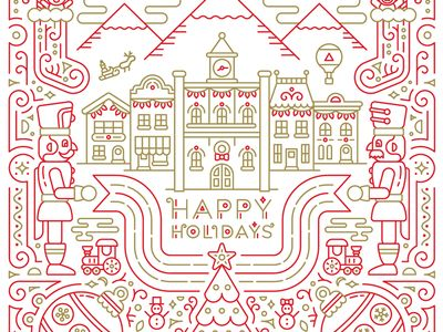 Bank of American Fork Holiday Card 2016