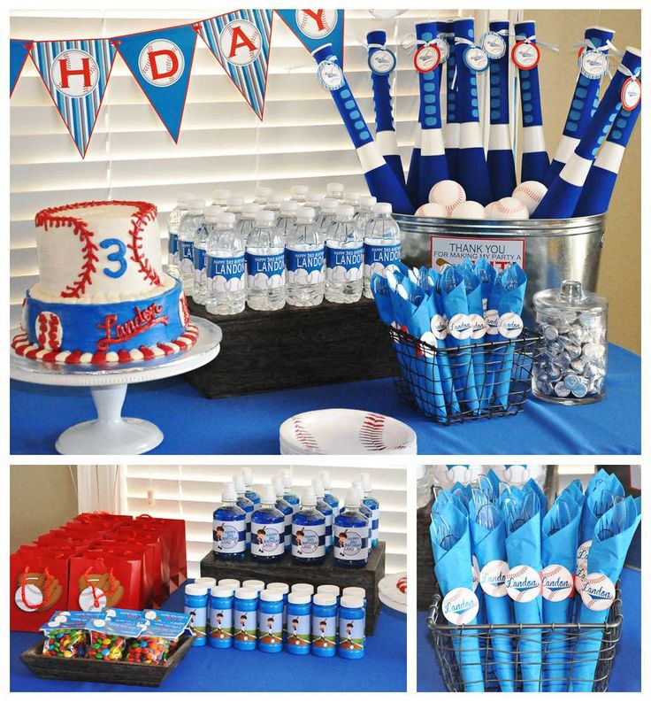 216 Best Images About Baseball Birthday Party On Pinterest