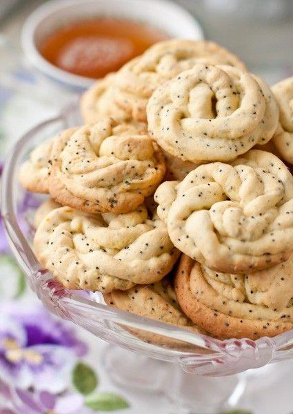 Любимое рецепт из детства... Цитрусовое печенье с маком