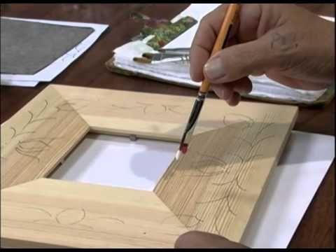 Mulher.com 16/01/2013 Ana Maria Guimarães - Pintura em madeira porta-ret...