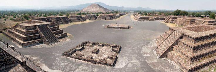 Теотиуакан - Город Богов. Потерянная Цивилизация. История и раскопки древних пирамид Мексики.
