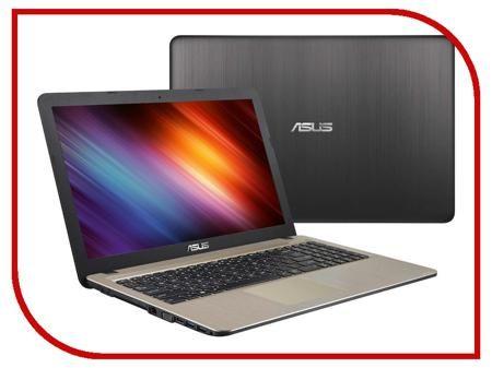 Ноутбук ASUS X540LJ 90NB0B11-M09330 (Intel Core i3-5005U 2.0 GHz/4096Mb/500Gb/DVD-RW/nVidia GeForce GT 920M 1024Mb/Wi-Fi/Bluetooth/Cam/15.6/1366x768/DOS)  — 24908 руб. —