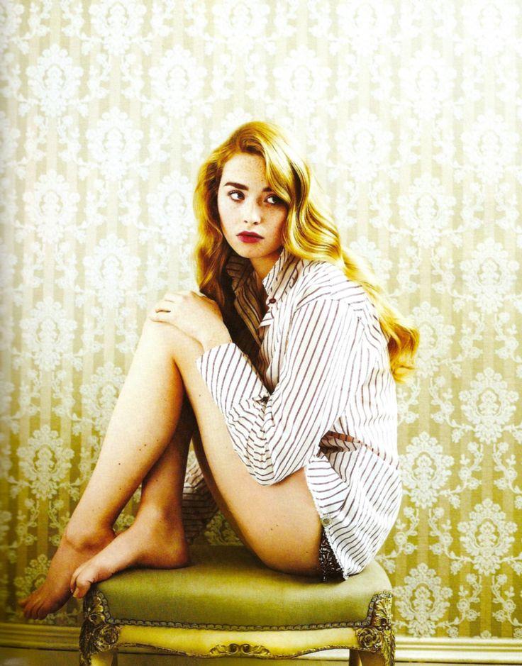 The beautiful Freya Mavor...