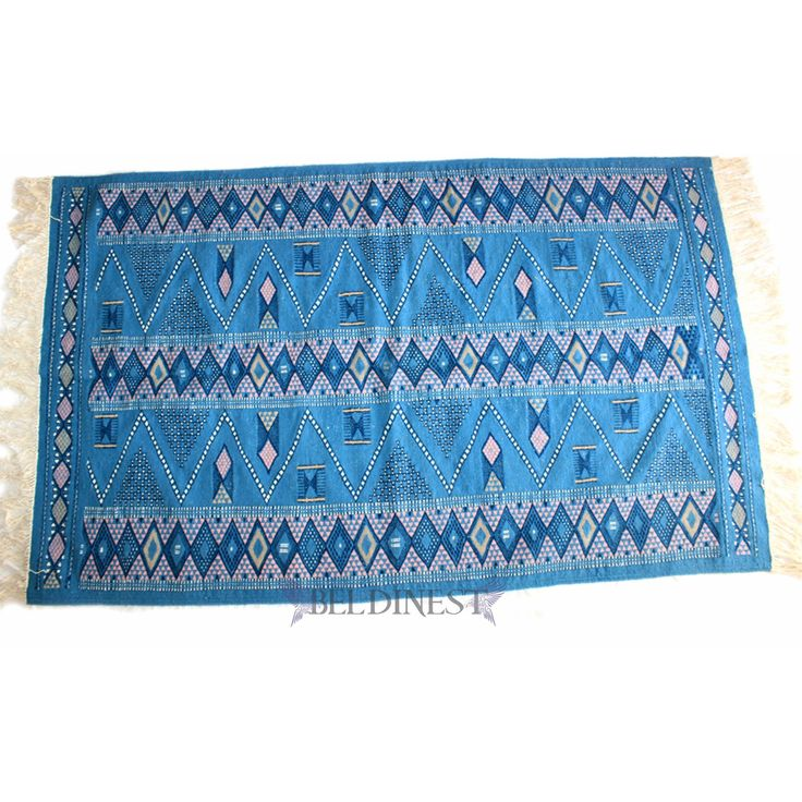 BLue Kilim Rug - Made to Order  sc 1 st  Pinterest & 104 best Rugs images on Pinterest | Knit rug Woven rug and Family ...