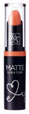 Ruby Kisses Ultra Matte Super Rich Lipstick 3.5g/0.12oz (RMLS09 PEACH LOO)