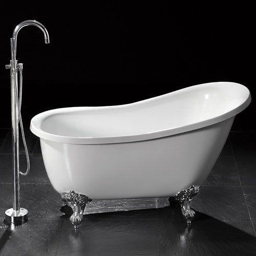 55 inch clawfoot tub. Sale  55 Ultra Victorian Acrylic Slipper Clawfoot Tub With Imperial Feet 96 Best Luxuria Hardware Bathtubs Images On Pinterest Bathtub