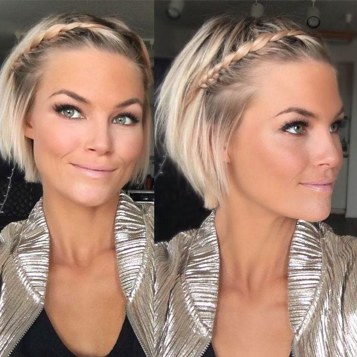 Was für eine Frisur mit kurzem Haar 2018, um seinen sehr schicken Stil zu verfeinern?   – Taylor ?