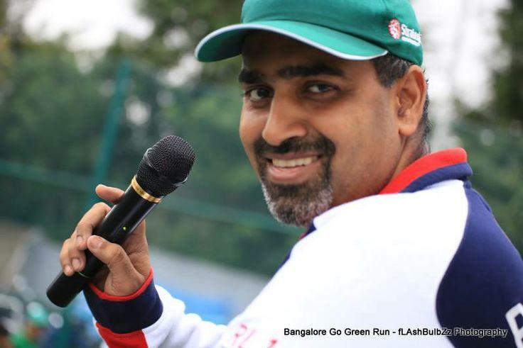 Subhakar Rao Surapaneni at Go Green run Marathon
