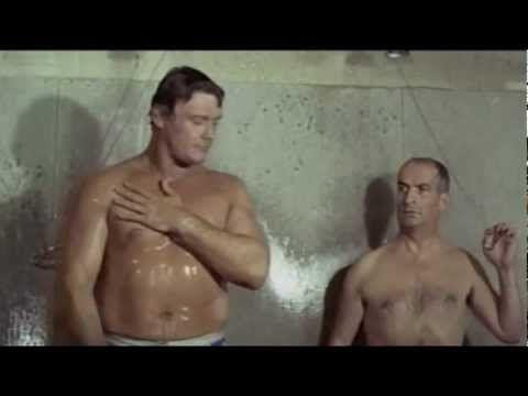 Louis de Funès - Le Corniaud (1965) - Gay Bodybuilder