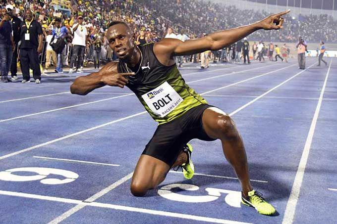 Bolt participará en dos pruebas en su último Mundial #Atletismo #Deportes
