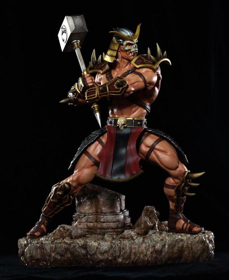 Mortal Kombat Shao Kahn 1:4 Scale Statue.