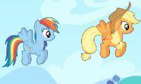 Rainbow Dash cooking M and M Cake - Juega a juegos en línea gratis en Juegos.com