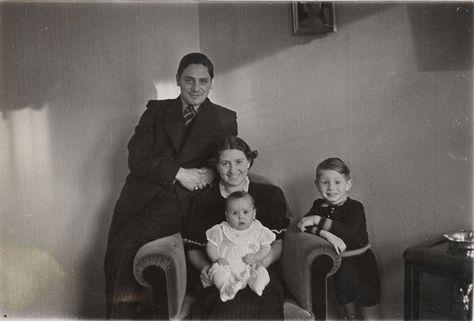 Elly Vleeschhouwer (baby) was only 6 years old when she was sadly murdered at Auschwitz-Birenkau on December 11,1942. The photo was taken in 1937.