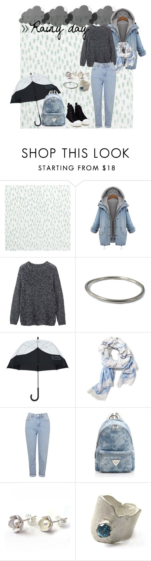 """""""Rainy day. ☁"""" by ann-sarah on Polyvore featuring mode, Bluebellgray, Toast, Hunter, Old Navy, Topshop, Catherine Marche et Moschino #lazyday #lazy #fashionset #fab #teenagers #trend #comfortable #comfortzone #choies #cold #coldoutside #rainyday #pull #sweatshirt #sheinside #hoodie #blue  #warm #converse #umbrella #jewells #catherinemarche #rings #earrings #bracelet #silver #backpack #music #2016 #polyvore #polyvorefashion #mochino #shoes #guess #topshop #jeans"""