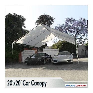 20x20 Heavy Duty Car Canopy