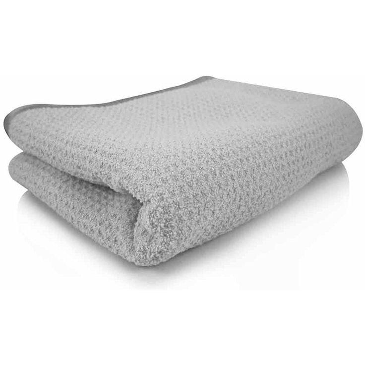 Gray microfiber towels husky tool set with box