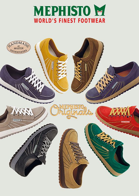 MEPHISTO Originals | Handmade cult shoes with a touch of nostalgia