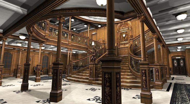 Titanic Grand Staircase I by Hudizzle