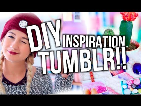 DIY INSPIRATION TUMBLR!! | Emma Verde - YouTube