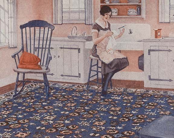 17 best images about 1920s 1930s home on pinterest 5 for 1920s kitchen floor