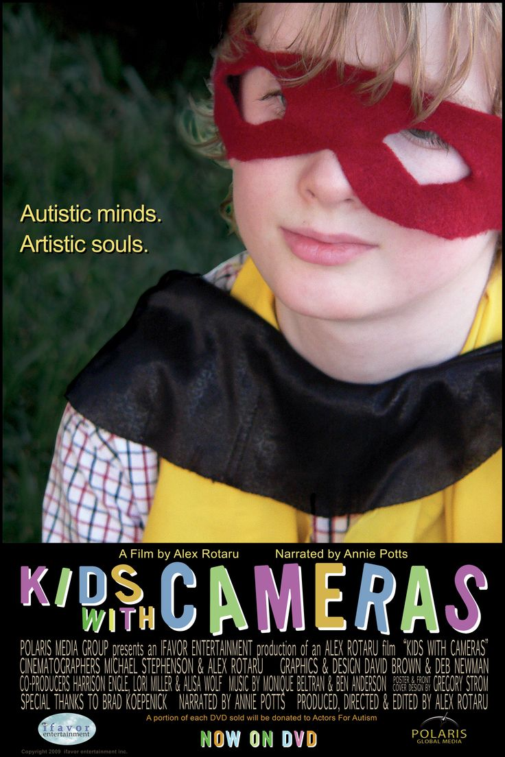 Kids With Cameras follows the progress, challenges, and triumphs of a group of children with Autism participating in a film camp hosted by non-profit Actors for Autism, and taught by award-winning educator Brad Koepenick. For more information please visit www.polarisglobal.com
