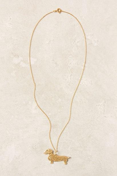 Dachshund Necklace #anthropologie: Anthropologie Dachshund, Weenie Dogs, Friends, Weiner Dogs, Baby Dachshund