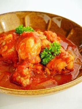 炊飯器で作る♪鶏手羽元のトマト煮。炊飯器を使った簡単おかずレシピ|レシピブログ