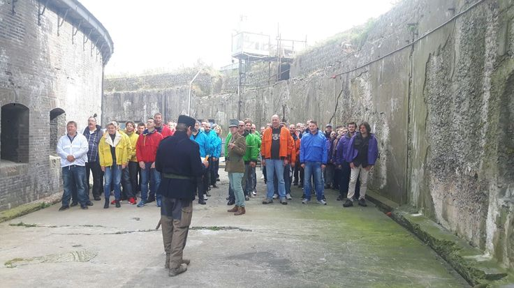 Teambuilding op forteiland Pampus. https://www.advance-events.nl/Teambuilding-op-pampus