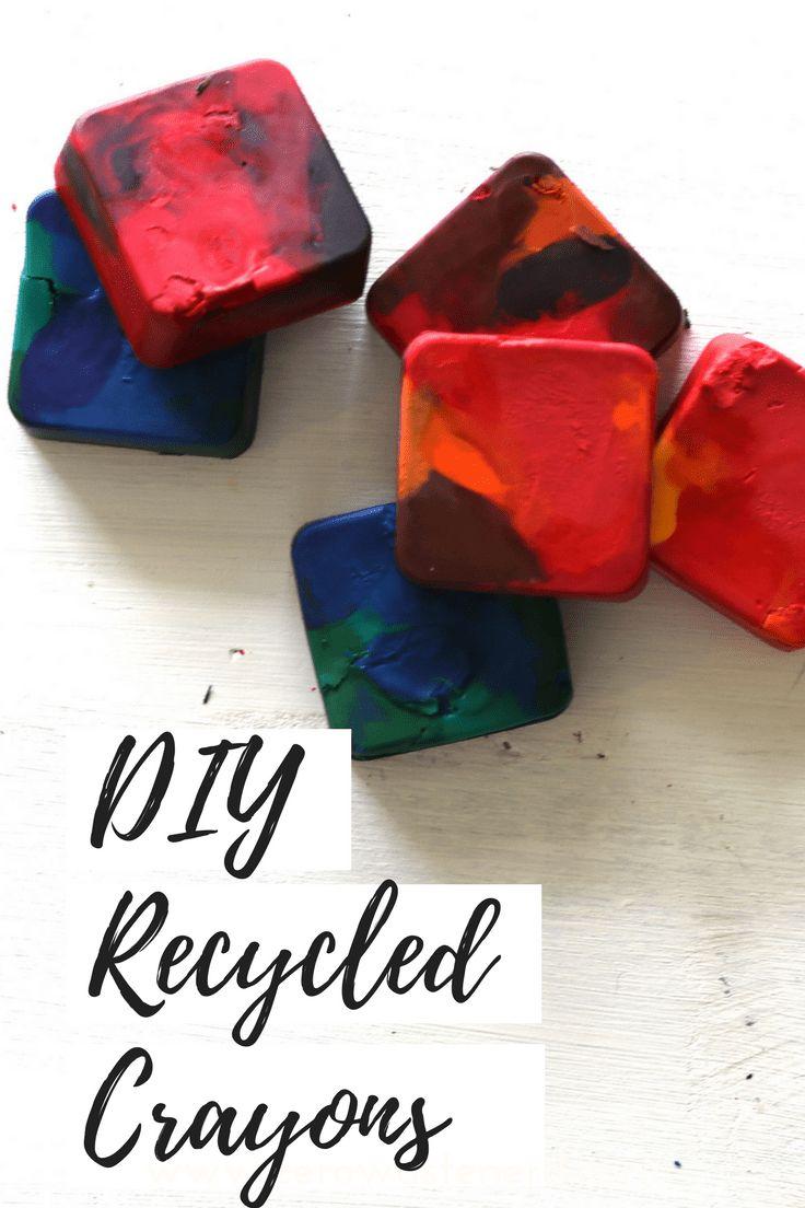 DIY Recycled Crayons - Zero Waste Nerd