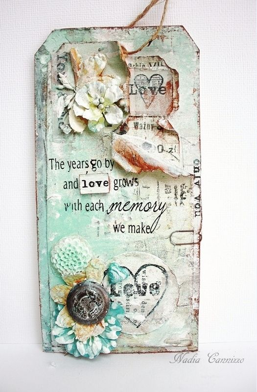 Love tag - Scrapbook.com