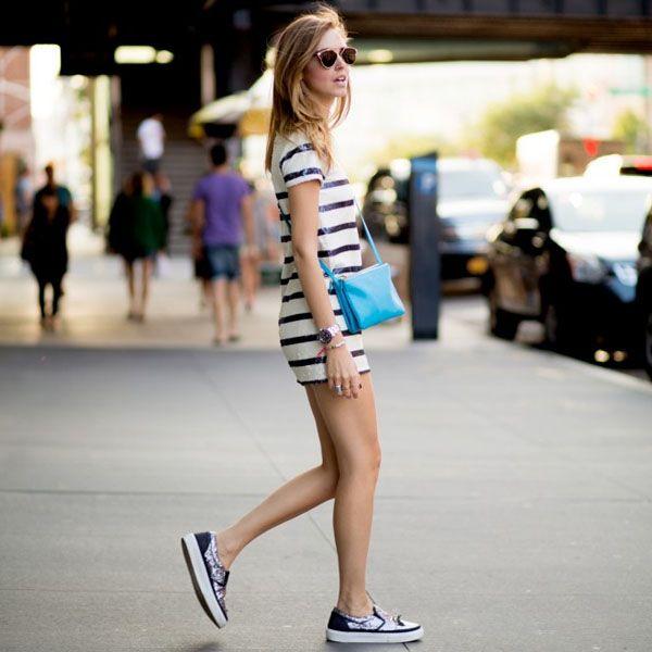 6 Motivos pra Você Comprar um Vestido Listrado: