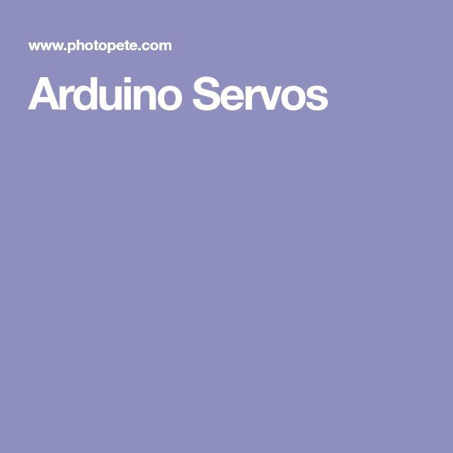 Arduino Servos