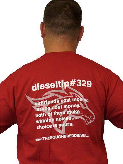 Thoroughbred Diesel dieseltips DieselTip 329 T-Shirt
