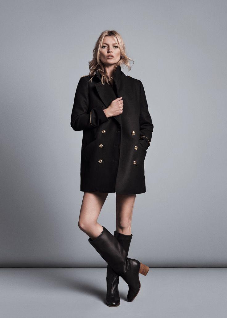 Пальто-бушлат (42 фото): женское, мужское, с чем носить