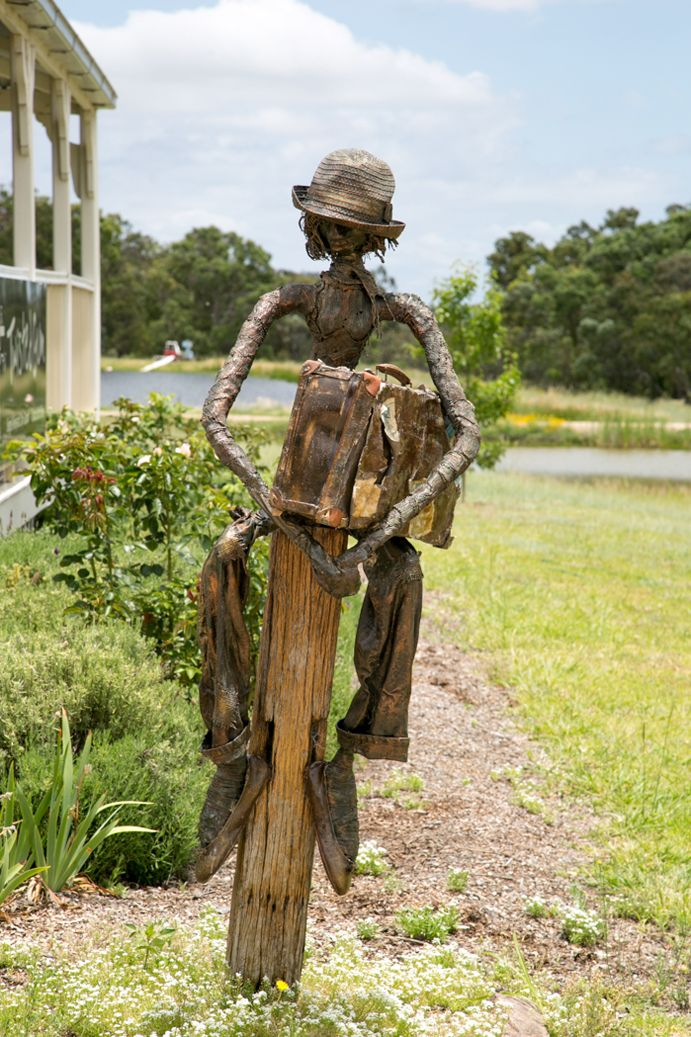Artwork at Twisted Gum Wines | Stanthorpe Art Gallery is mentioned as a highlight