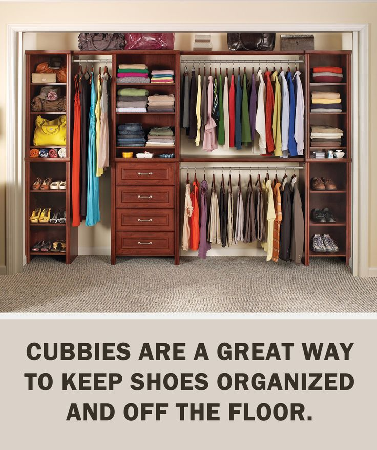 Letsgetorganized With Closetmaid Cubbies Are A Great