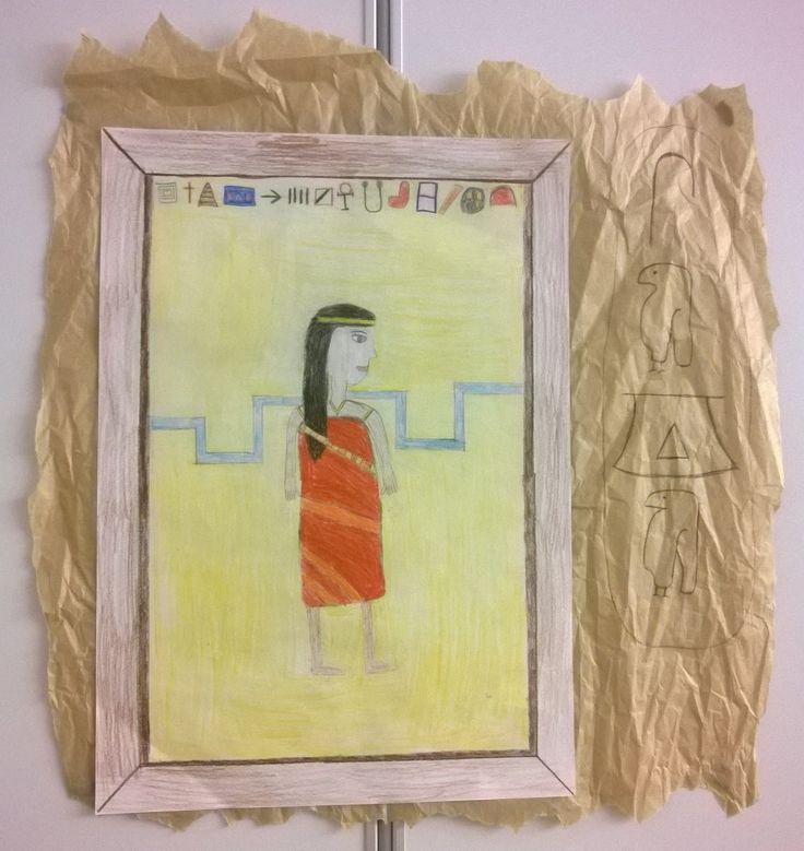 Muinainen Egypti ja hieroglyfit (5.lk)