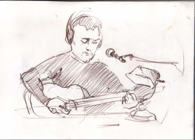Anatoliy Veskyarskyi in L`uft. Created by Yustyna Mogytych