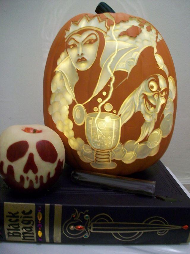 Best images about disney villains pumpkins on pinterest