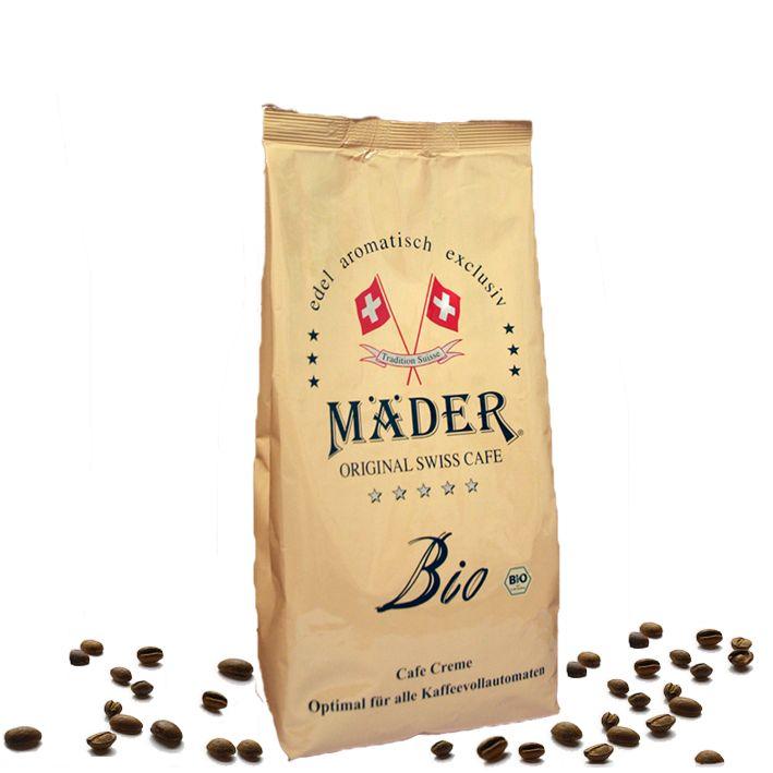 Mäder Bio Kaffee 500g Bohnen, ein edles Getränk für echte Gourmets
