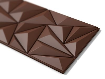 Krystall Chocolate Bar. Such a great concept shape form geometric design packaging