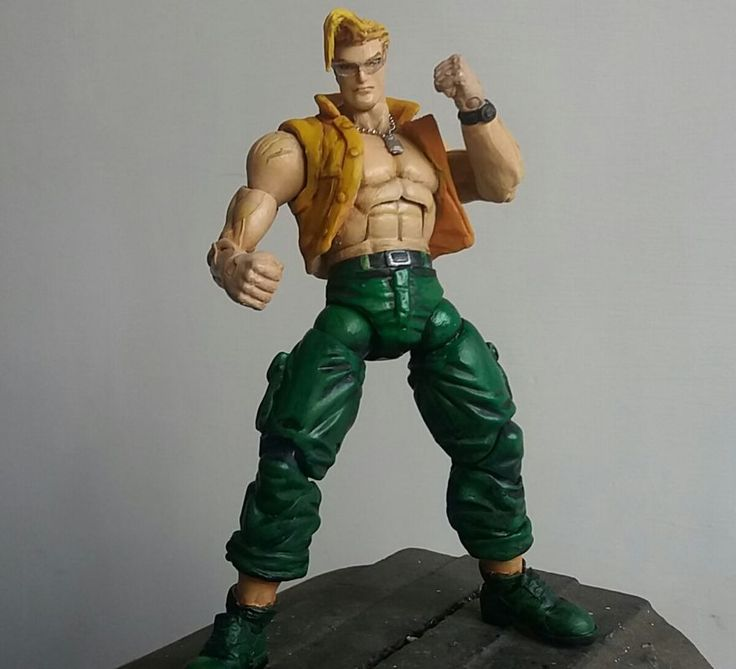 Charlie nash (Street Fighter) Custom Action Figure