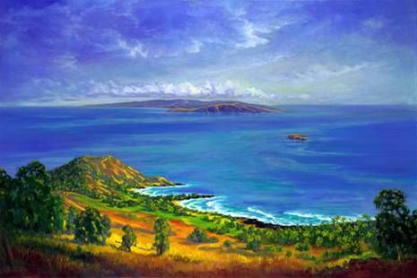 """Makena Landing"" by Janet Spreiter at Maui Hands"