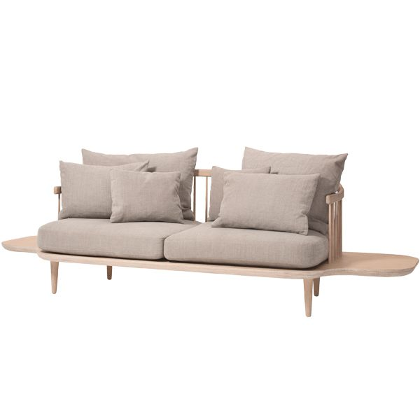 Fly SC3 sofa with sidetables, Hot madison 094, by &Tradition.