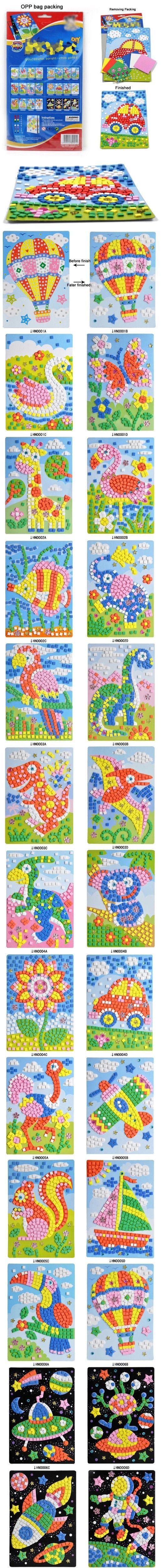 Kinder handwerk 3d eva puzzle matte diy kinder pädagogisches spielzeug für kinder Rätsel Eltern, kawaii tierkind Spiele in Kriegsparteien: Erstickungsgefahr- kleinteile. Nicht für Kinder unter 3 Jahren und muss beused unter Aufsicht von Erwach aus Puzzlespiele auf AliExpress.com | Alibaba Group