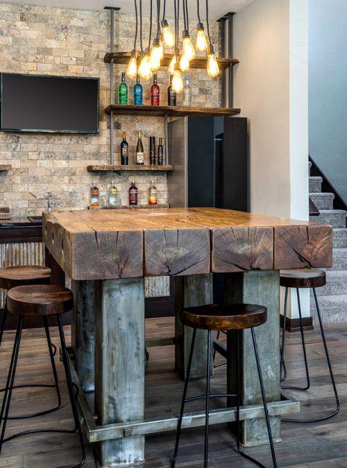 Oltre 25 fantastiche idee su cucina chic industriale su pinterest stile loft stile for Piano snack cucina