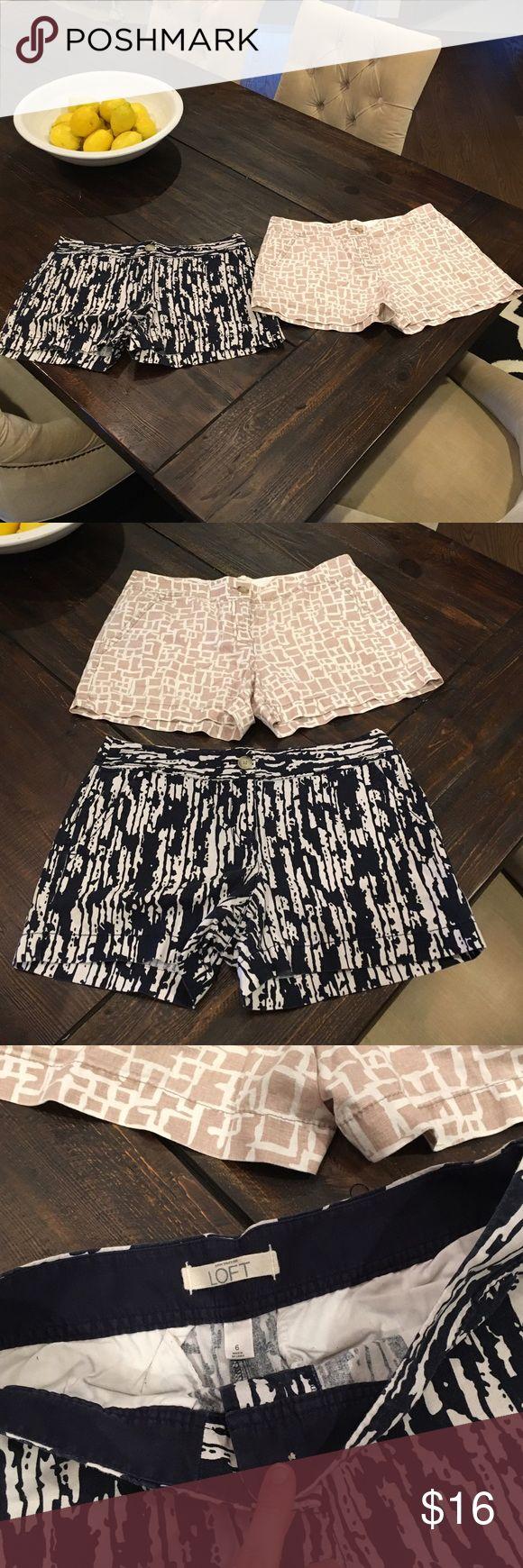 Linen Anne Taylor Loft shorts size 6 Linen Anne Taylor loft shorts size 6. Super comfy! LOFT Shorts