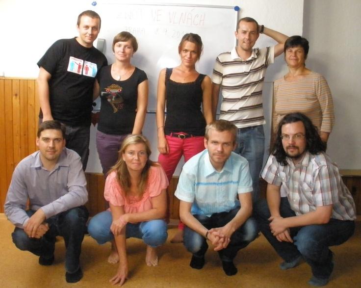 Účastníci pražského semináře Život ve vlnách (www.zivotvevlnach.cz) z 8. 9. 2012